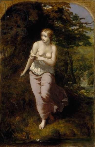 Musidora Bathing, 1849 (oil on canvas)