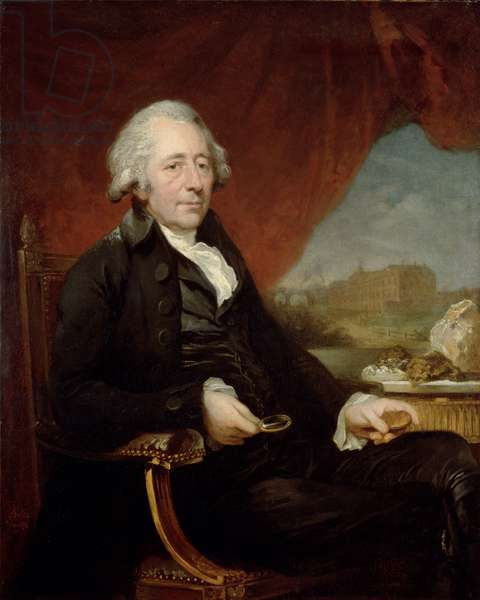 Portrait of Matthew Boulton, 1772 (oil on canvas)