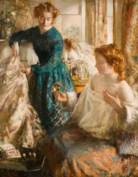 The Crystal Gazers, 1905-1906 (oil on canvas)