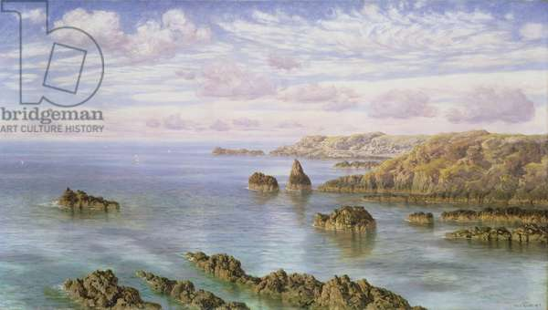 The Southern Coast of Guernsey, 1875 (w/c on paper)
