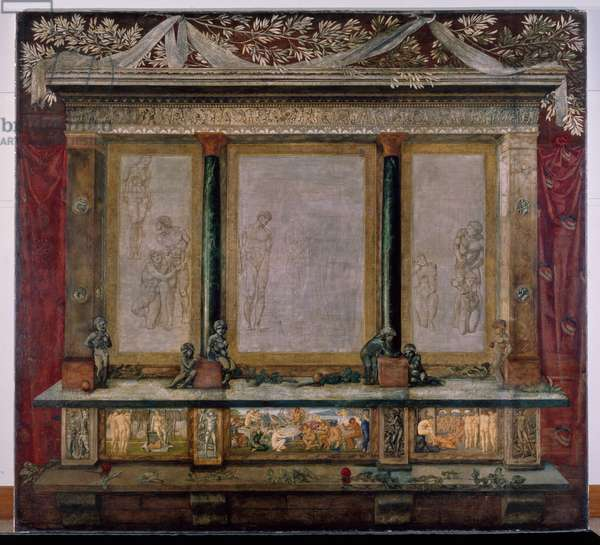 Troy Triptych, 1872-1898 (oil on canvas)
