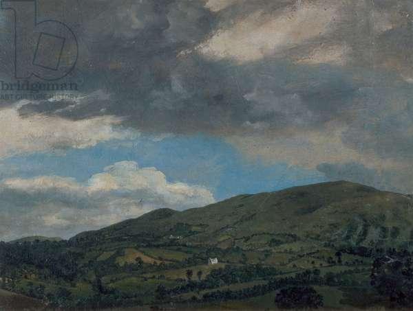 Penkerrig, Wales, 1772 (oil on paper)