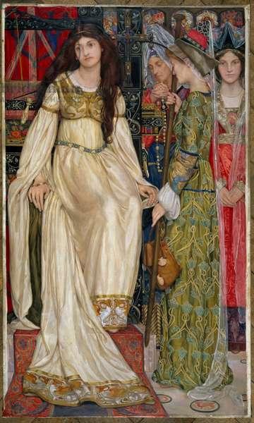 The Keepsake, 1901 (oil on canvas)