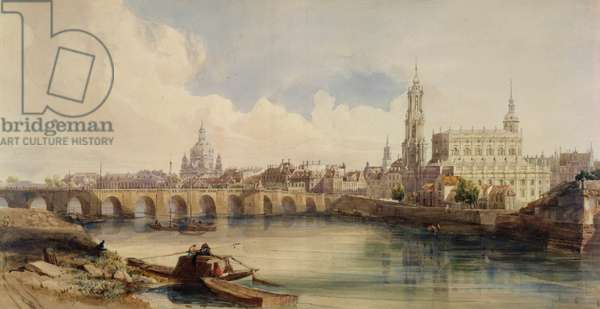 Dresden, 1843-1846 (w/c on paper)