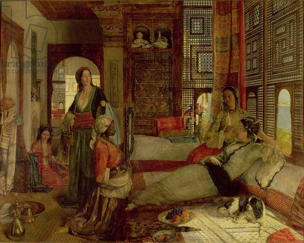 The Harem, 1876 (oil on panel)