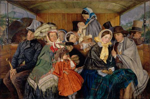 To Brighton and Back for Three and Sixpence, 1859 (oil and canvas)