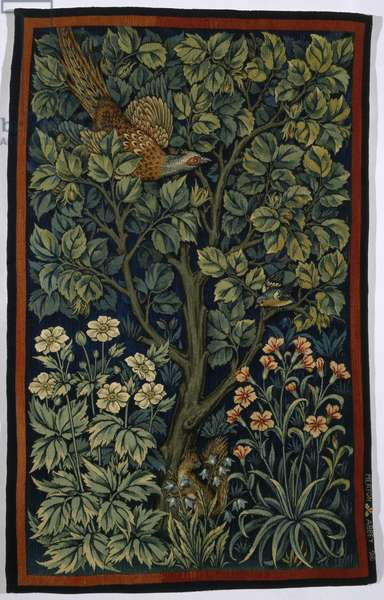 Cock Pheasant, made by Morris & Co. 1916 (tapestry)