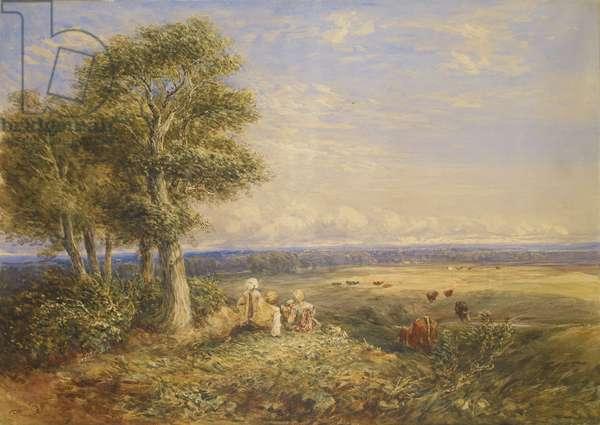 The Skylark, 1848 (oil on canvas)
