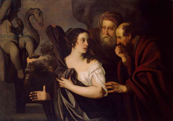 Susanna and the Elders (oil on canvas)