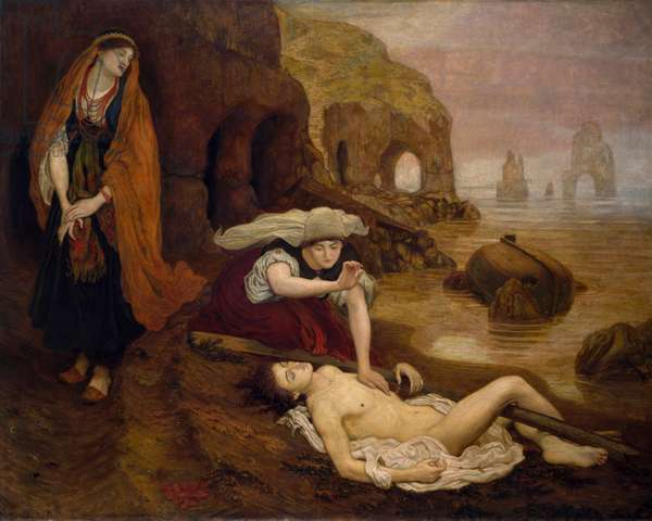 The Finding of Don Juan by Haidee, 1873 (oil on canvas)