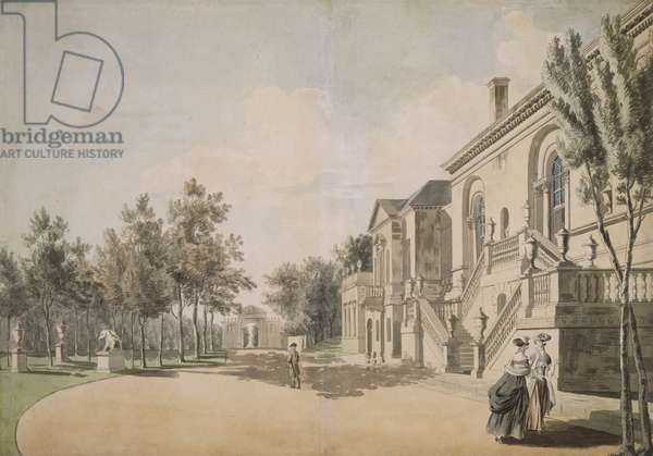 Chiswick House, 1766-1768 (w/c on paper)