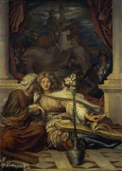Britomart, 1877-78 (oil on canvas)