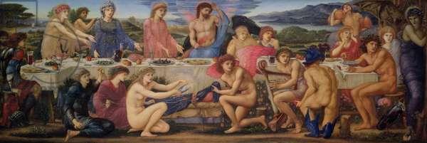 The Feast of Peleus (oil on panel)