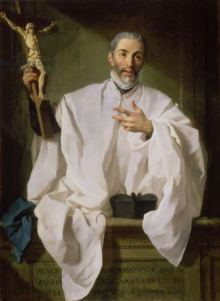 St John of Avila, c.1746 (oil on canvas)