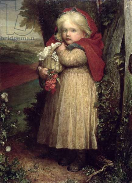 Little Red Riding Hood, 1890 (oil on canvas)