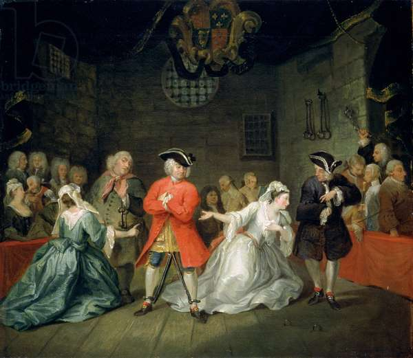 The Beggar's Opera, c.1731 (oil on canvas)