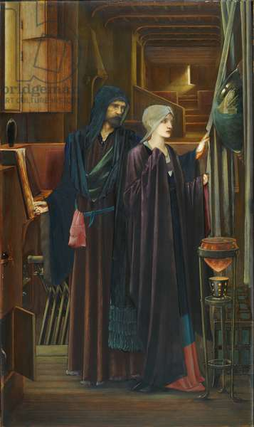 The Wizard, 1898 (oil on canvas)