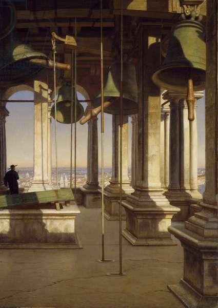 The Bells of Saint Mark's, Venice, 1903 (oil on canvas)