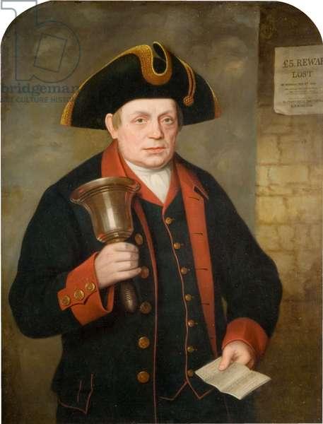 Portrait of Jacob Wilson (1799-1882) Last Birmingham Town Crier, 1868-69 (oil on canvas)