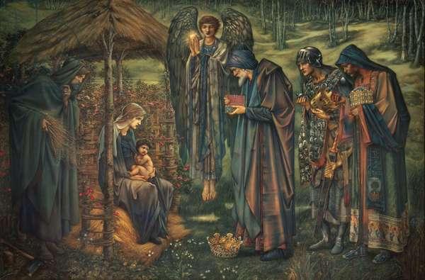 The Star of Bethlehem, 1888-91 (w/c, oil, tempera & gouache laid on canvas)
