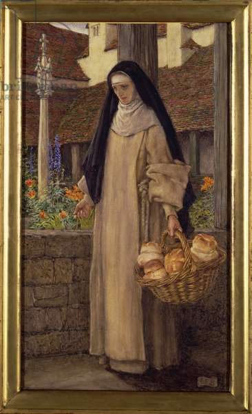 Guinevere - 'Before the Coming of the Sinful Queen', 1911 (w/c on paper)