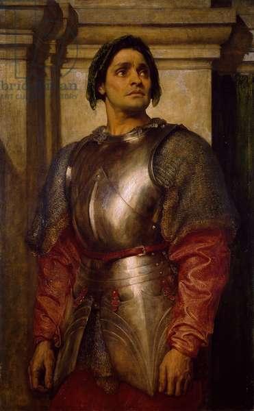 A Condottiere, 1871-72 (oil on canvas)