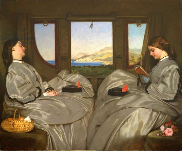 The Travelling Companions, 1862 (oil on canvas)