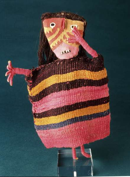 Doll from Chancay, Peru, 1000-1400 (textile)