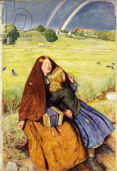 The Blind Girl, 1854-56 (oil on canvas)