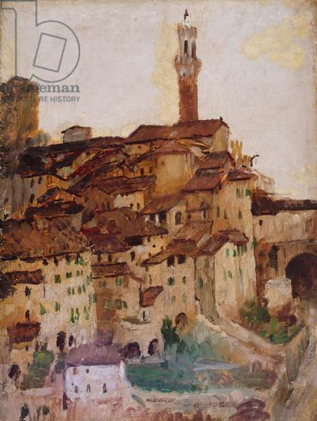 Sienna, 1883-1910 (oil on canvas)
