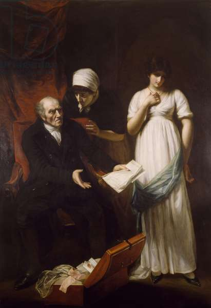 The Angry Father or The Discovery of the Clandestine Correspondence, 1802 (oil on canvas)