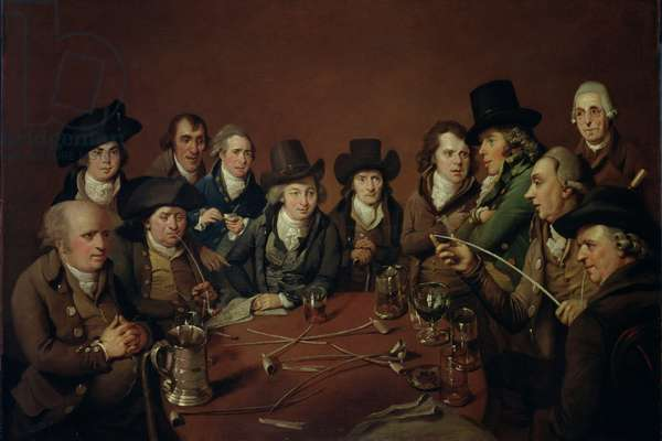John Freeth and his Circle, 1792 (oil on canvas)