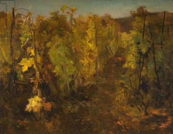 La Vigne, 1860-1863 (oil on canvas)