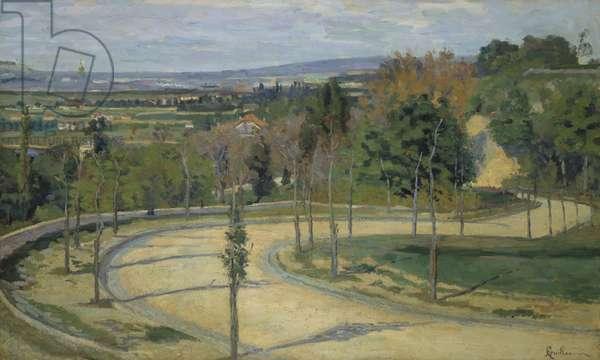 Les Environs de Paris, 1875 (oil on canvas)
