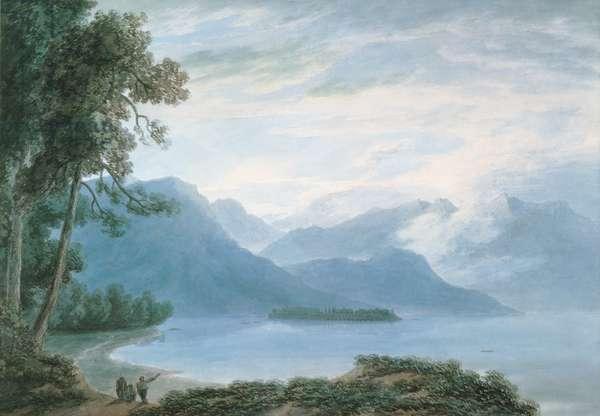 Isola Bella, Lake Maggiore (w/c on paper)