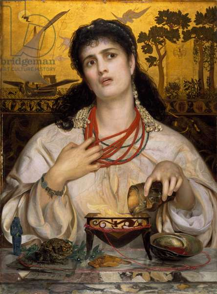 Medea, 1868 (oil on panel)