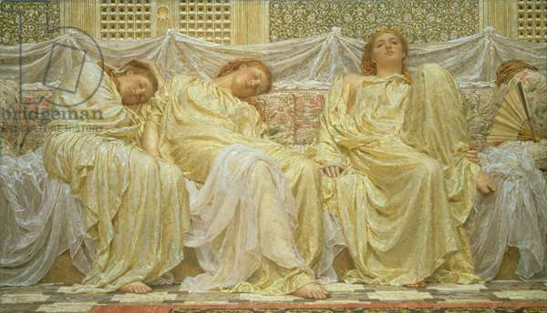 Dreamers, 1882 (oil on canvas)