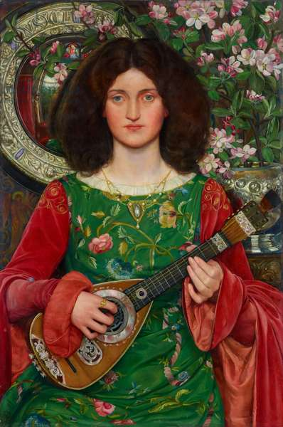 Musica (Melody), 1895-97 (oil on canvas)