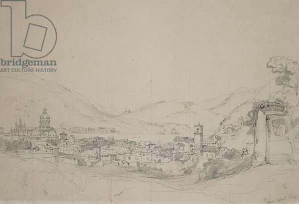 Como, 1840 (pencil on paper)