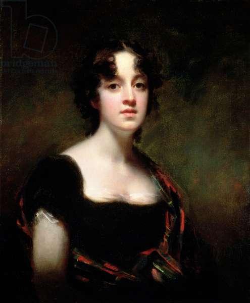 Mrs Farquarson of Finzean, 1800-1823 (oil on canvas)
