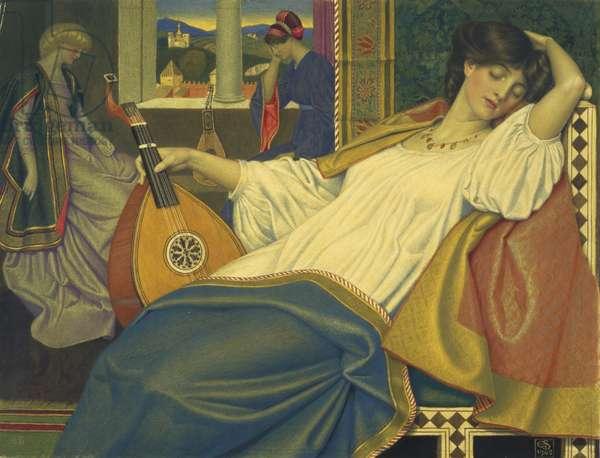 The Sleeping Beauty, 1908 (tempera on panel)