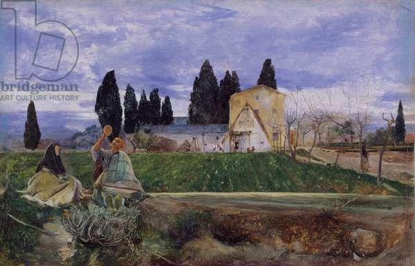 Springtime in Spain: near Gordella, 1869 (oil on canvas)
