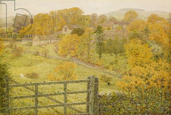 Thorpe, Derbyshire, 1880 (w/c on paper)