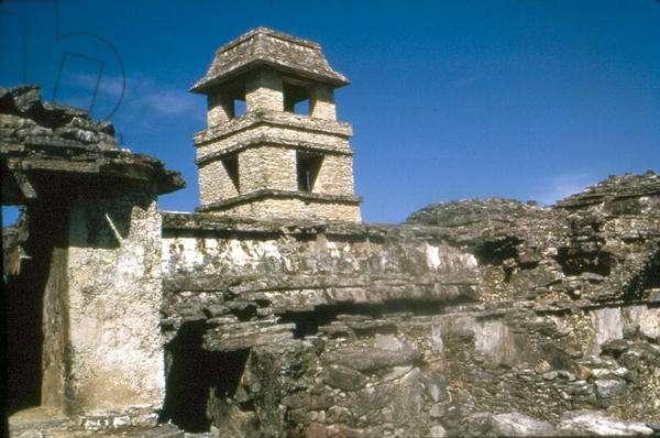 Palace, Maya, Late Classic period, Palenque (photo)