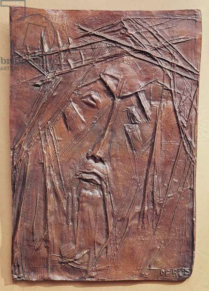 Christ Crowned with Thorns, c.1955 (bronze)