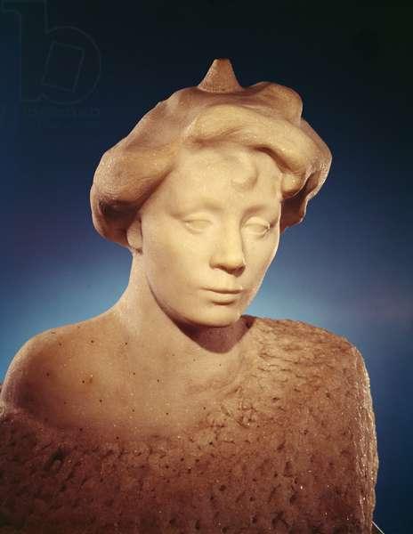 Miss Eve Fairfax, 1904 (marble)