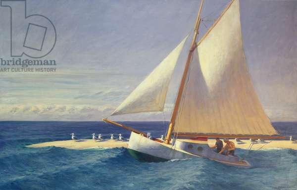 The 'Martha McKeen' of Wellfleet, 1944 (oil on canvas)