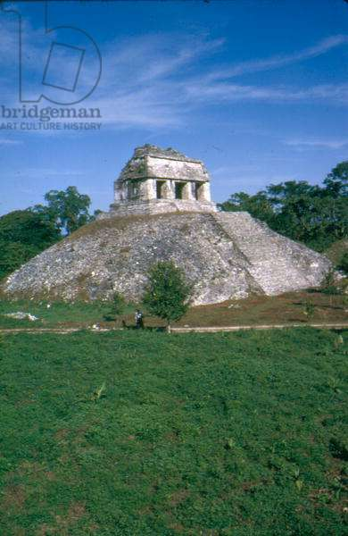 Temple of the Counts, Palenque (photo)