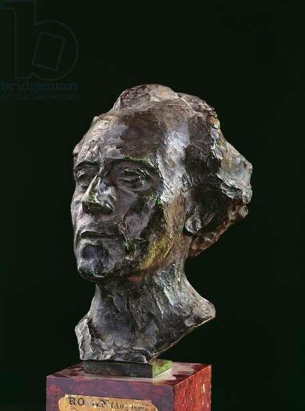 Gustav Mahler, 1909 (bronze)