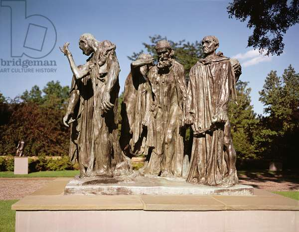 The Burghers of Calais (bronze)